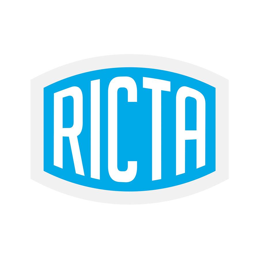 Ricta Sticker 2 in x 1.5 in PK/25