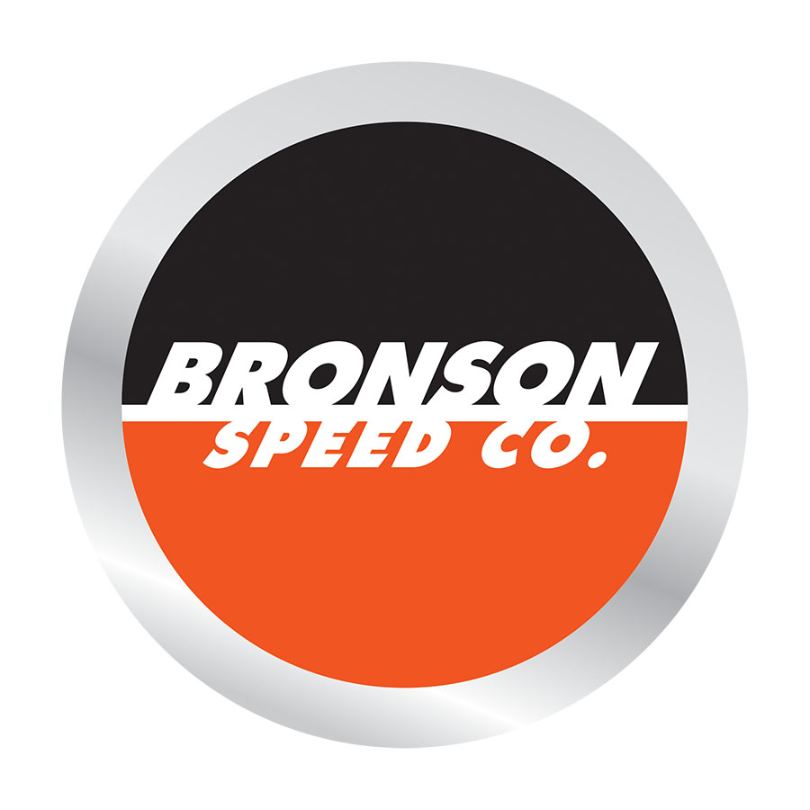 Bronson Spot Logo Sticker 2.5 in x 2.5 in PK/25