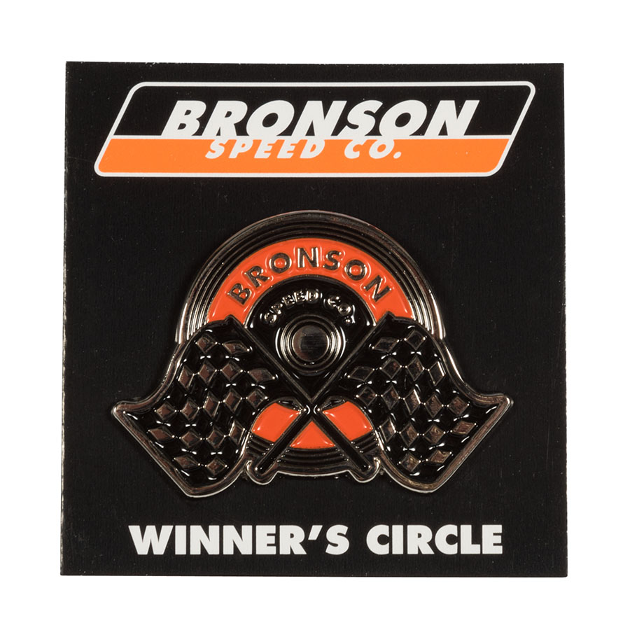 Winners Circle Unisex Screw Back Pin Bronson Speed Co.