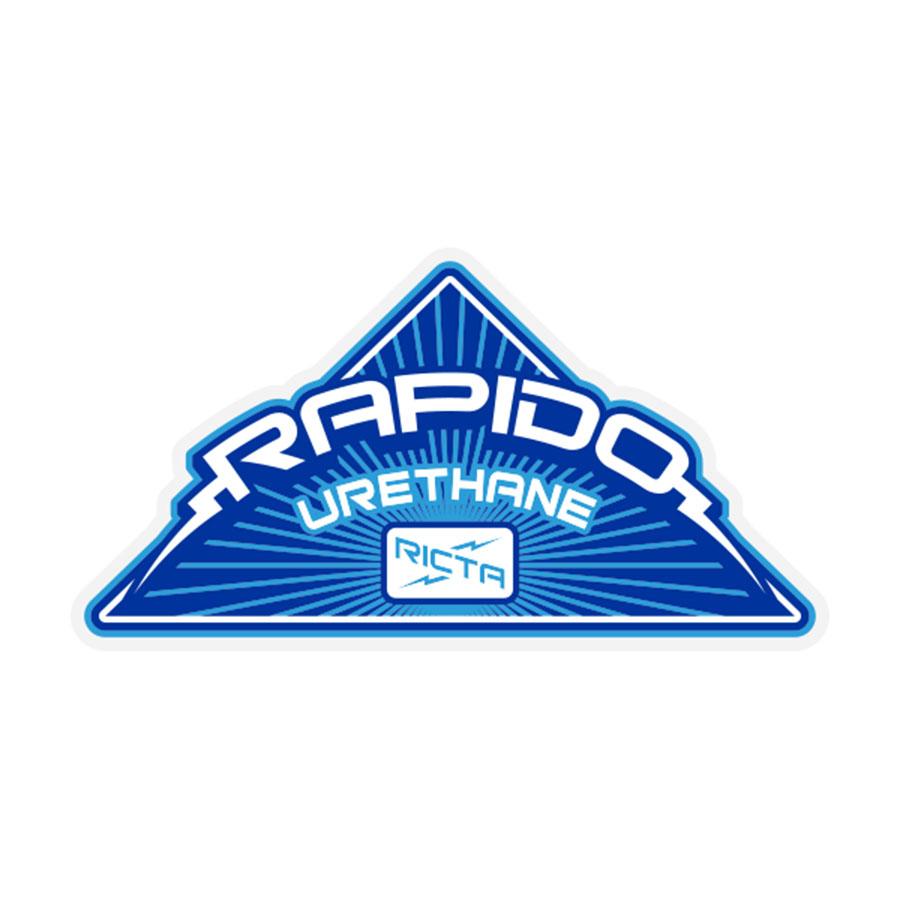 Rapido Sticker 4.22 in x 2.28 in PK/25