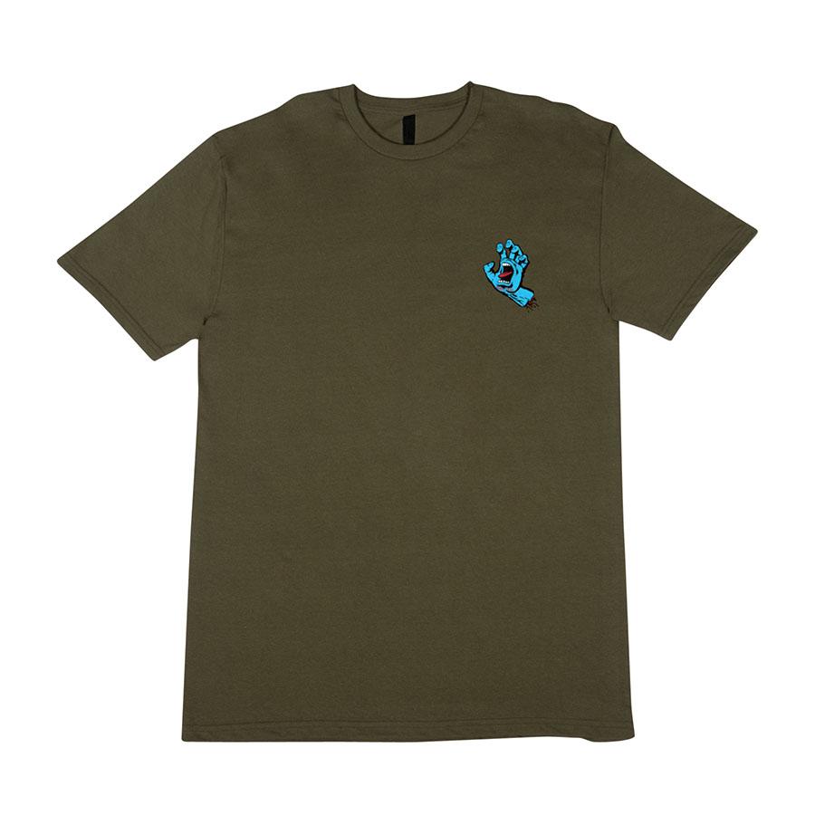 Screaming Hand Regular S/S Santa Cruz Mens T-Shirt