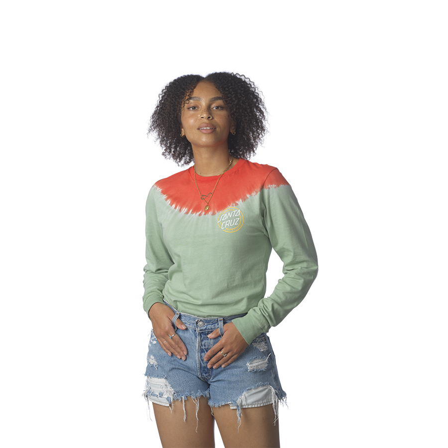 One Stroke Boyfriend L/S Santa Cruz Womens T-Shirt