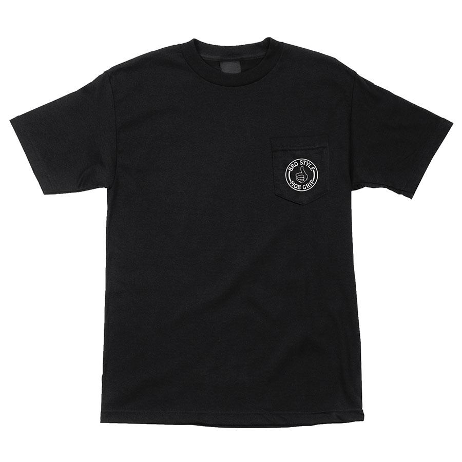 Bro Style Pocket Pocket S/S Mob Mens T-Shirt