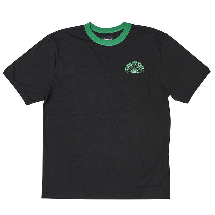 Web Ringer S/S Creature Mens T-Shirt