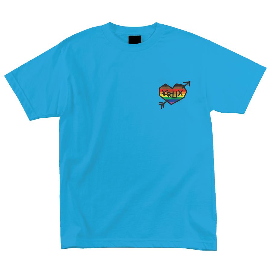 Krux Rainbow Regular S/S Krux Mens T-Shirt