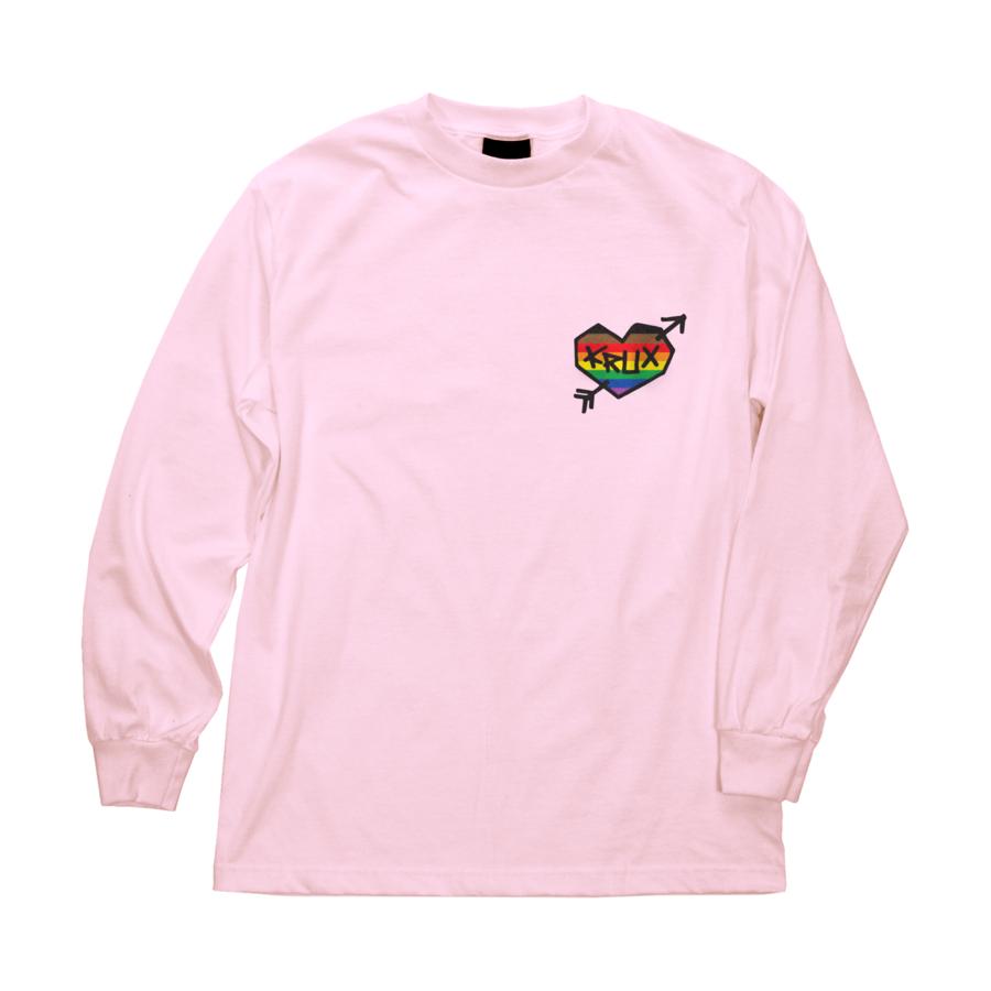 Krux Rainbow Regular L/S Krux Mens T-Shirt