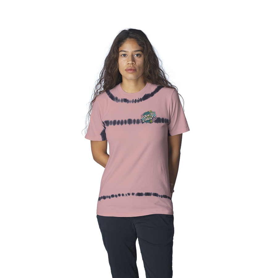 Succulent Dot Relaxed Crew S/S Santa Cruz Womens T-Shirt