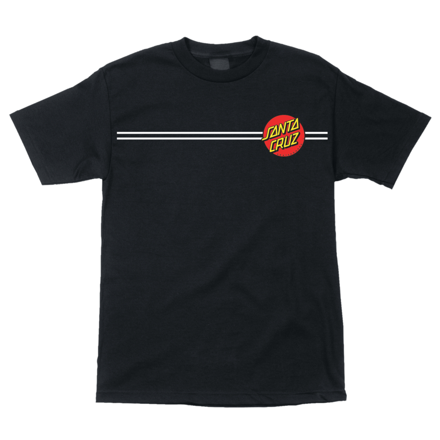 Classic Dot Regular S/S Santa Cruz Mens T-Shirt