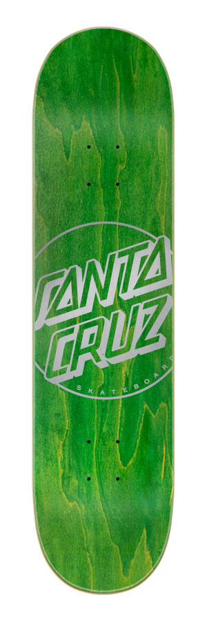 7.9in x 31.7in Opus Dot Santa Cruz Skateboard Deck