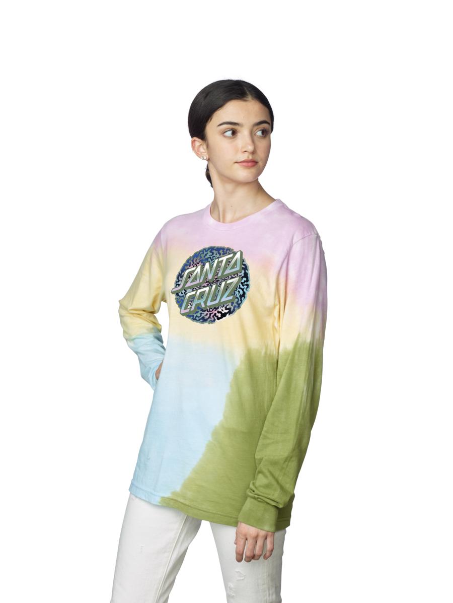 Obscure Dot L/S Santa Cruz Womens T-Shirt