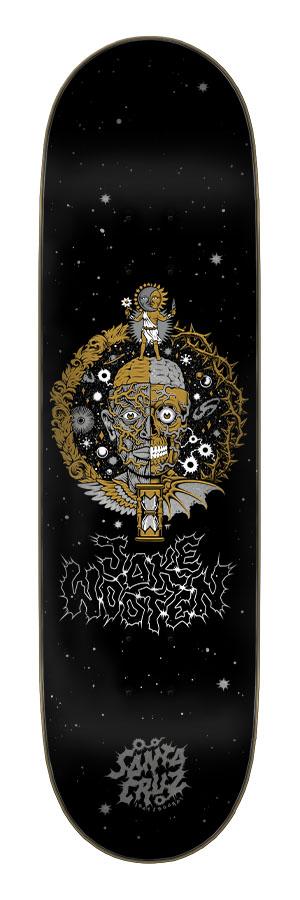 8.5in x 32.2in Wooten Crest VX Deck Santa Cruz Skateboard Deck
