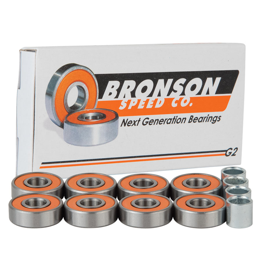 G2 BOX/8 Bronson Speed Co. Skateboard Bearings
