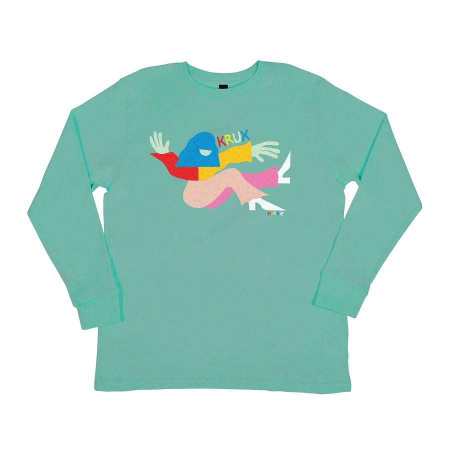 Marbie Miller Regular L/S Krux Unisex T-Shirt