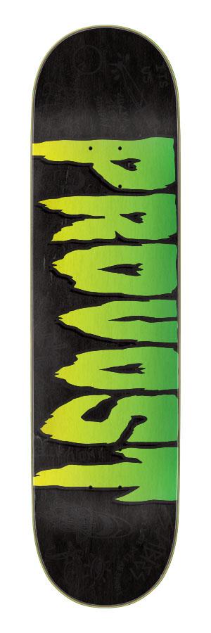 8.0in x 31.8in Provost Pro Logo Creature Skateboard Deck
